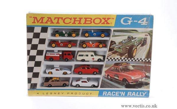 "2021: Matchbox No.G4 ""Race'n Rally"" Set"