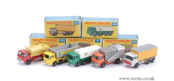 2023: Matchbox No.7c Ford D800 Refuse Truck & Others