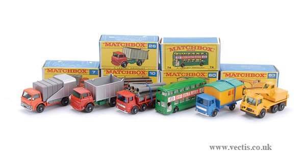 2024: Matchbox No.7c Ford D800 Refuse Truck & Others