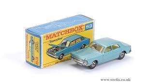 2075: Matchbox Superfast No.53 Ford Zodiac Mk.IV
