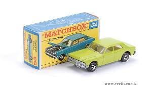 2076: Matchbox Superfast No.53 Ford Zodiac Mk.IV