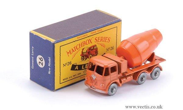 2605: Matchbox No.26b Foden Cement Mixer