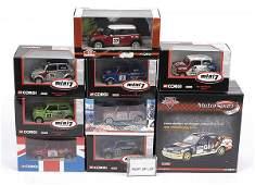 3217: Corgi - A Group of Racing Minis and Rally Cars
