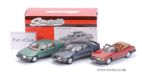 2: Somerville No.127 Saab 9000CD & Others