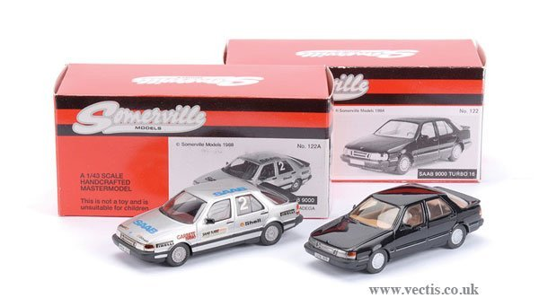 3: Somerville No.122 Saab 9000 Turbo & Others