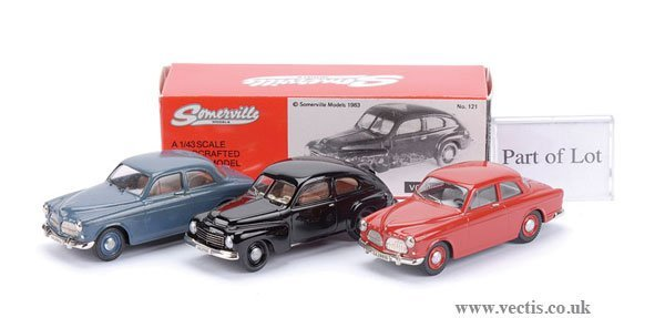 4: Somerville No.121 Volvo PV444A & Others