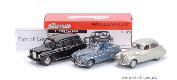 "5: Somerville No.100AK Austin FX4 ""Taxi"" & Others"