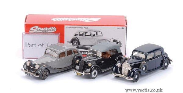 10: Somerville No.102 Mercedes Benz 260D & Others