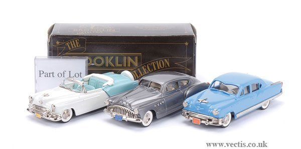 12: Brooklin BRK10 Buick Roadmaster Sedanet & Others