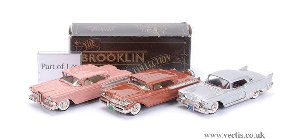 14: Brooklin BRK22 Edsel Citation Hardtop & Others