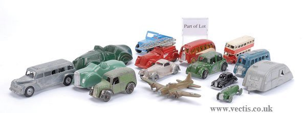 1023: Johillco Bus & Other Diecast
