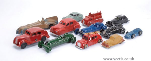 1024: Charbens Fire Engine & Other Diecast