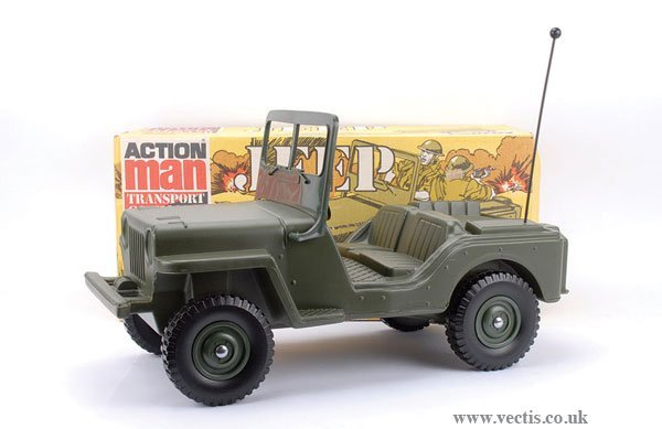 3001: Palitoy Action Man Transport Command Jeep