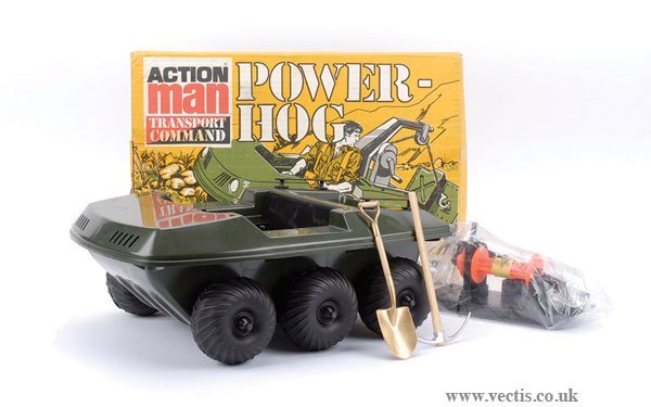 3002: Palitoy Action Man Transport Command Power-Hog