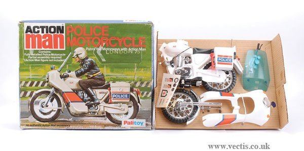 3003: Palitoy Action Man Police Motorcycle