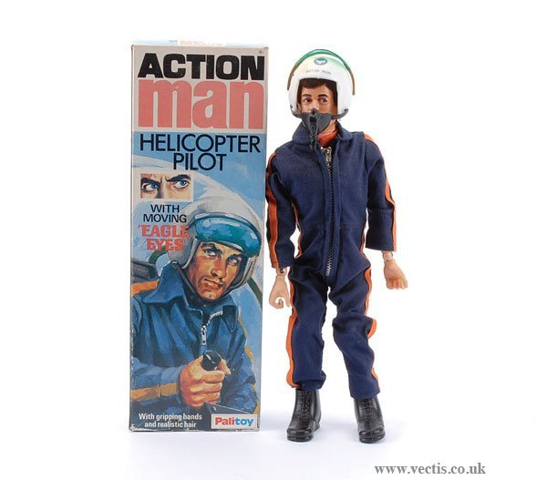 3006: Palitoy Action Man Helicopter Pilot