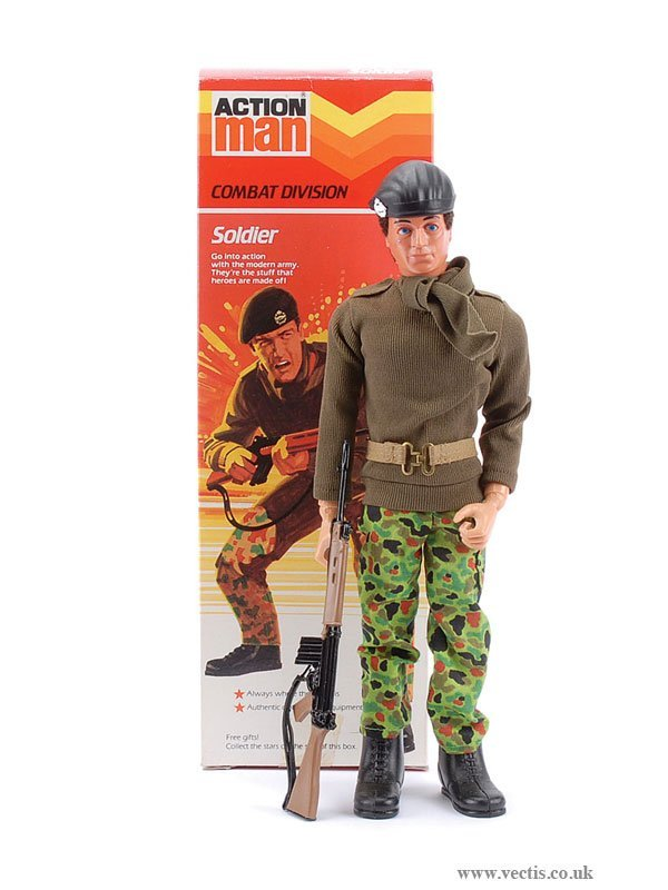 3008: Palitoy Action Man Combat Division Soldier