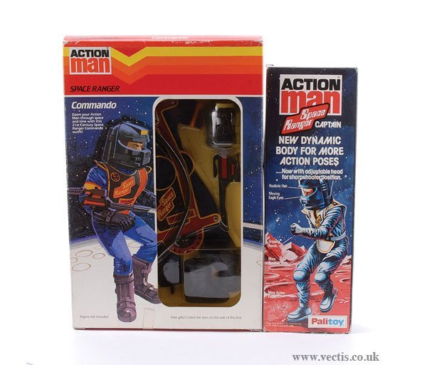 3011: Palitoy Action man Space Ranger Captain