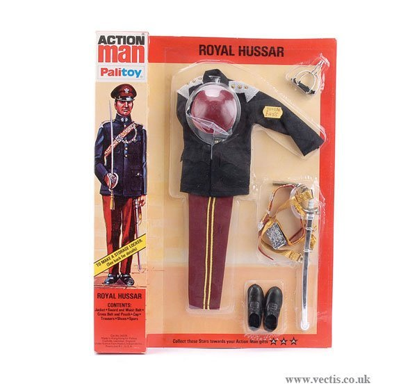 3013: Palitoy Action Man Royal Hussar Outfit