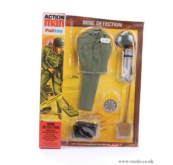 3014: Palitoy Action Man Mine Detection Outfit