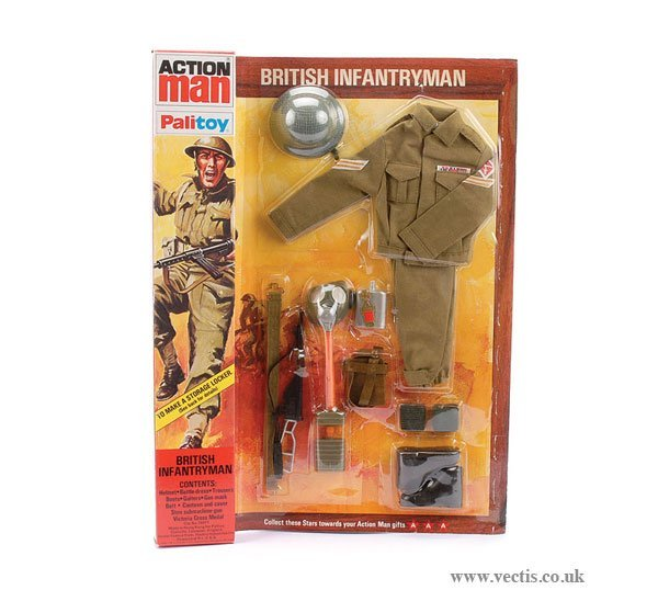 3015: Palitoy Action Man British Infantryman Outfit