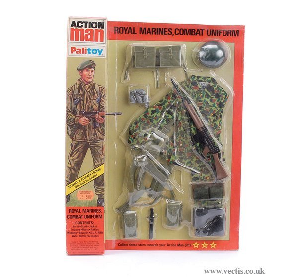 3016: Palitoy Action Man Royal Marines Combat Outfit