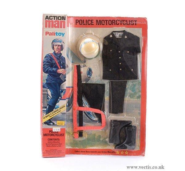 3017: Palitoy Action Man Police Motorcyclist Uniform