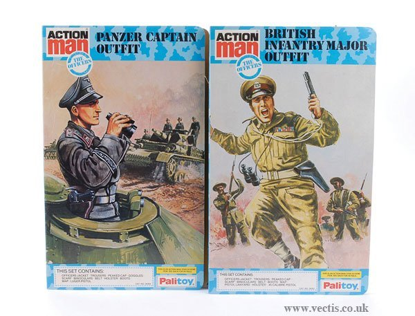 3020: Palitoy Action Man British Infantry Major Outfit