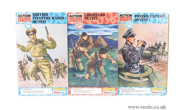3021: Palitoy Action Man The Officers Panzer Captain