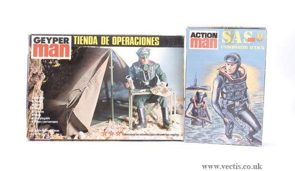 3022: Palitoy Action Man SAS Underwater Attack