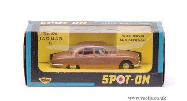3282: Spot-On No.276 Jaguar S Type