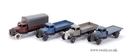 3467: Dinky No.25B Covered Wagon & Others