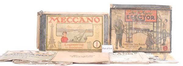 2003: Meccano Early 1920s Nickel Sets
