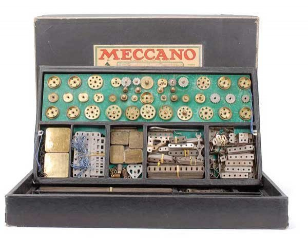 2004: Meccano No.6 Nickel Outfit