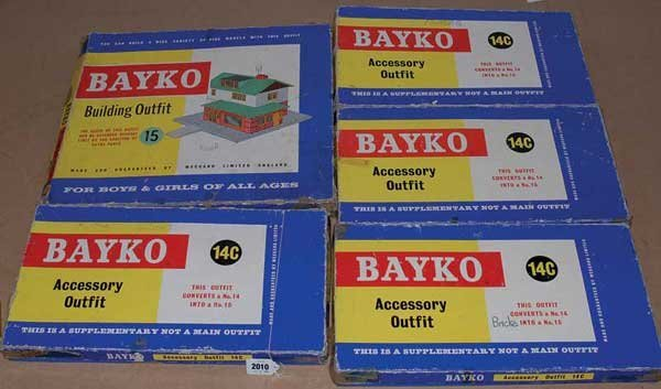2010: Bayko Post-war No.14C Sets x 4