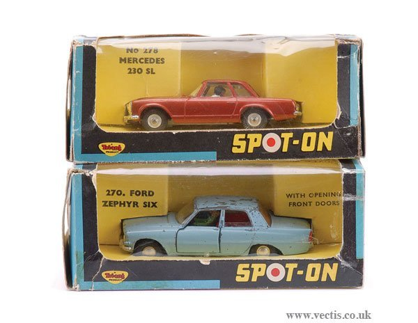 11: Spot-on No.270 Ford & No.278 Mercedes