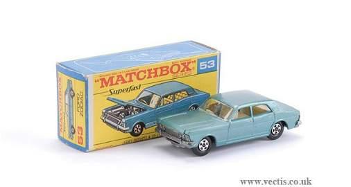 257: Matchbox Superfast No.53 Ford Zodiac