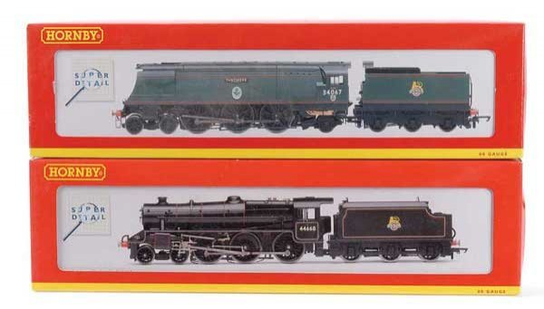 1003: Hornby (China) - A Pair of BR Steam Locos