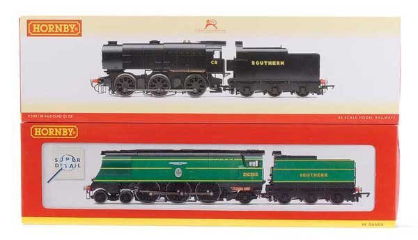 1004: Hornby (China) Southern Railway Steam Locos x 2