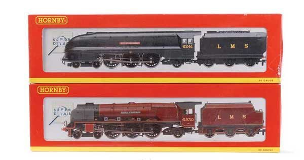 1005: Hornby (China) - A Pair of 4-6-2 LMS Steam Locos