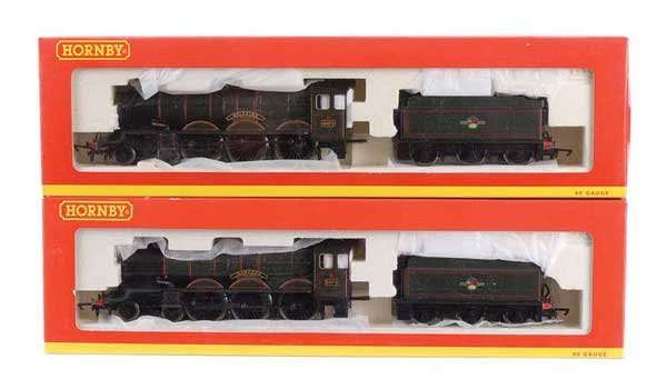 1006: Hornby - A Pair of 4-6-0 Castle Class Locos