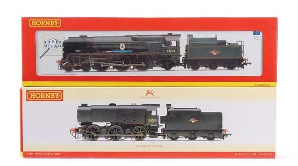 1008: Hornby (China) - A Pair of BR Steam Locos