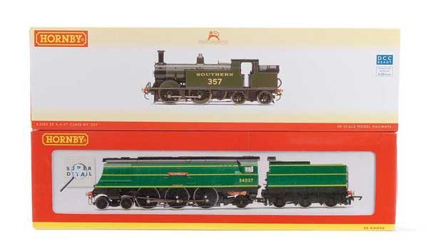 1009: Hornby (China) Southern Railway Steam Locos x 2