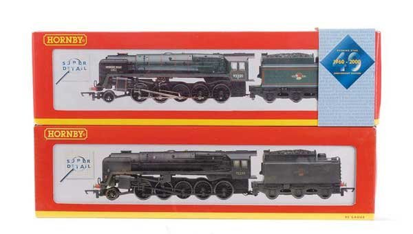 1011: Hornby Tender Drive 2-10-0 BR 9F Class Locos x 2