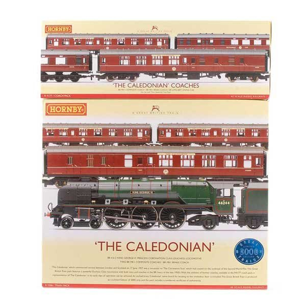 """1012: Hornby R2306 """"The Caledonian"""" Train Pack"""