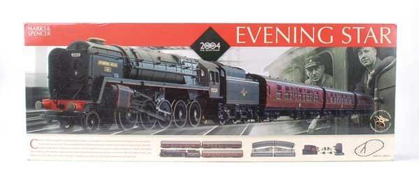 1021: Hornby (China) Evening Star Train Set