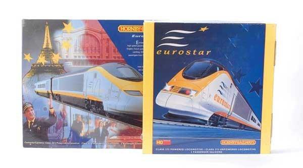 1022: Hornby Railways - 2 x Eurostar 4-Car Train Packs