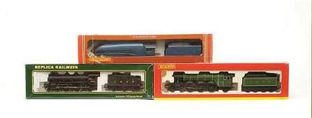 1114: OO Gauge - A Group of LNER Steam Locos