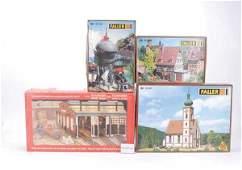 1195: HO - A Group of Plastic Kits
