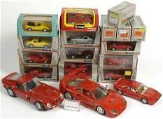 2001: A Group of Ferrari Models